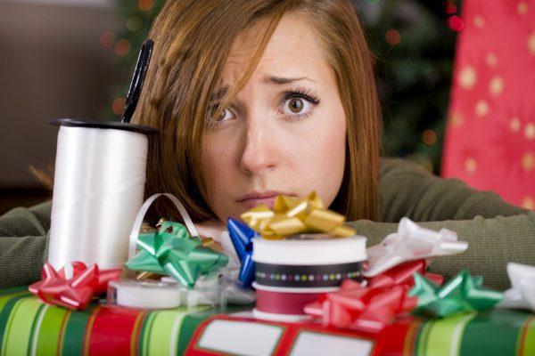 depresión en navidad