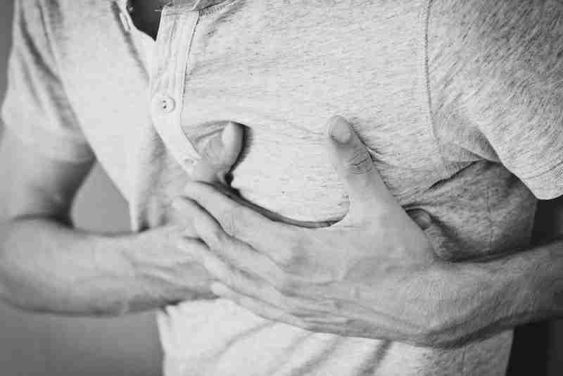 miedo a un infarto